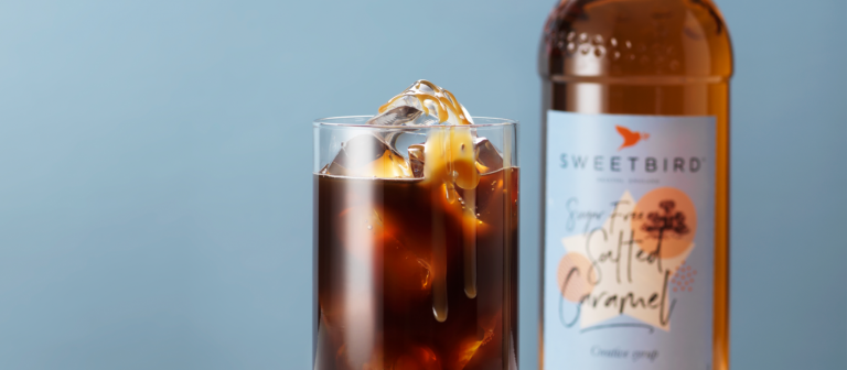 NEW Sugar-free Salted Caramel syrup from Sweetbird